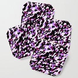 Purple Camo Coaster