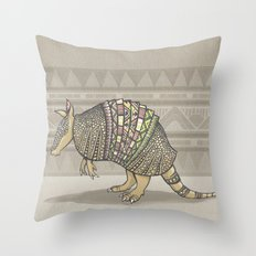 Abstract Armor Throw Pillow