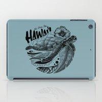 hawaii iPad Cases featuring Hawaii by Krikoui