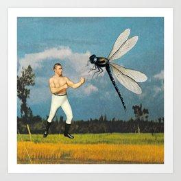Man vs Nature, Part 2 Art Print
