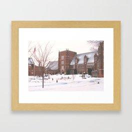 Mercyhurst Old Main Framed Art Print