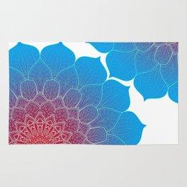 Colourful Mandala design, Mandala texture Rug