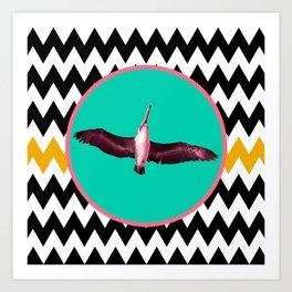 SWEET DREAMS, MAMA BIRD Art Print