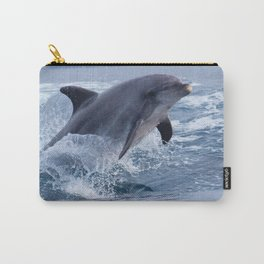 Bottenose dolphin Carry-All Pouch