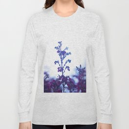 Heather flower #1 #decor #art #society6 Long Sleeve T-shirt