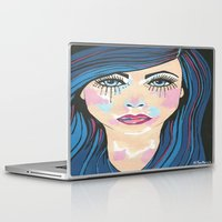 indigo Laptop & iPad Skins featuring Indigo by Sartoris ART