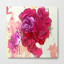 Rose Bloom Metal Print