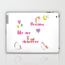 Dream Like A Unicorn Laptop & iPad Skin