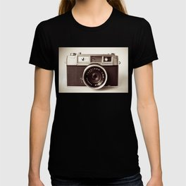 old camera photography, Camera photograph T-shirt