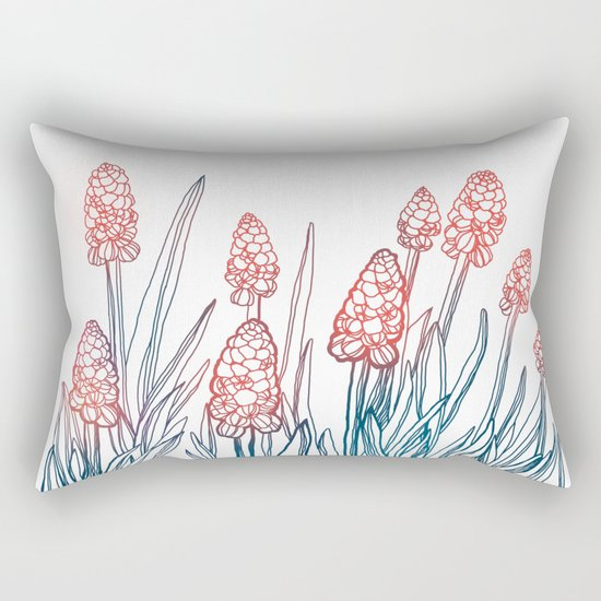Hyacinths Rectangular Pillow