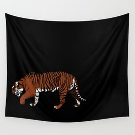 Tiger Stripes Wall Tapestry