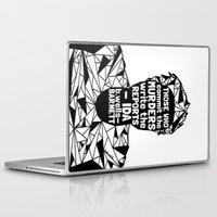 sandra dieckmann Laptop & iPad Skins featuring Sandra Bland - Black Lives Matter - Series - Black Voices by NOxLA