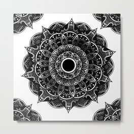 Flower of Universe Metal Print
