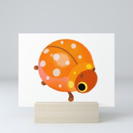 Lady beetles Mini Art Print