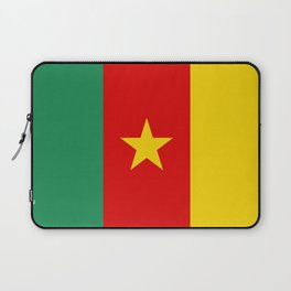 Cameroon country flag Laptop Sleeve