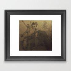 Aubrey and Beardsley Framed Art Print