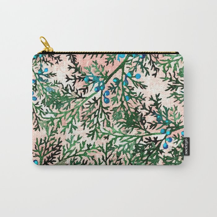 Botanical Watercolor Art #society6 #decor #buyart Carry-All Pouch
