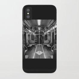 New York Subway Car iPhone Case