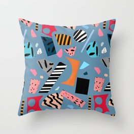 work-space Throw Pillow