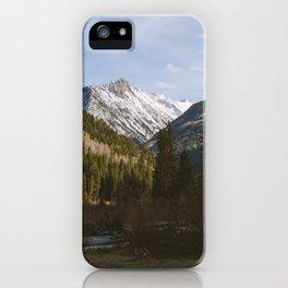 McClure Pass iPhone Case