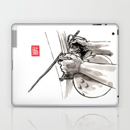 """Capoeira 482 """"Berimbau"""" Laptop & iPad Skin"""