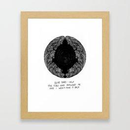 Haiku #1 Framed Art Print