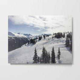 Whistler Mountain Canada  Metal Print