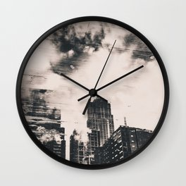 Pike Place Market Dock City Reflection Wall Clock