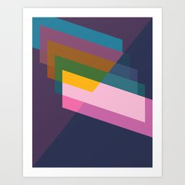 Cacho Shapes LVI Art Print