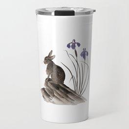 Springtime Rabbit Travel Mug