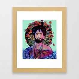 San Curly Framed Art Print