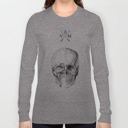 Davinci Skull Long Sleeve T-shirt
