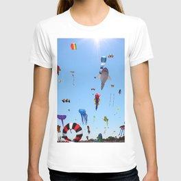 Kites over Lake Michigan T-shirt