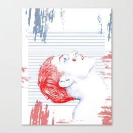 BlueRed Boy Canvas Print