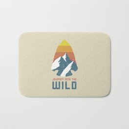 Journey Into the Wild Bath Mat