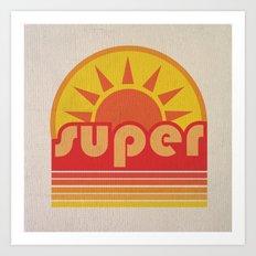 super duper Art Print