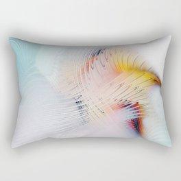 Fractal Bird Rectangular Pillow
