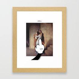 còllera in love. Framed Art Print