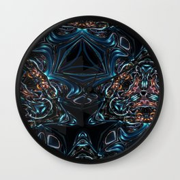 Kaleidescope Fx  Wall Clock