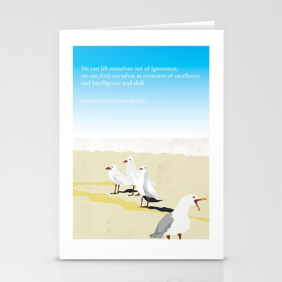 Jonathan Livingston Seagull Stationery Cards