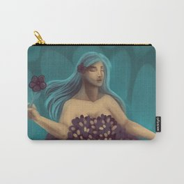 Flowersea Carry-All Pouch