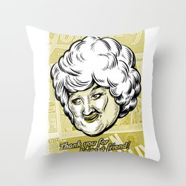 Thank You For Being a Friend - Dorothy Throw Pillow