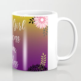 Floral Garden Baby Girl Princess Queen Goddess Typography Coffee Mug