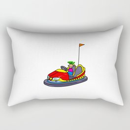 Dodgem Kid Rectangular Pillow