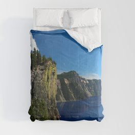 Crater Lake  and Lavacliffs Comforters