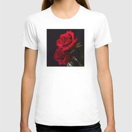 Two Red Roses in Camelot T-shirt