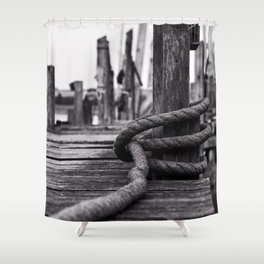 Mooring Hitch Shower Curtain