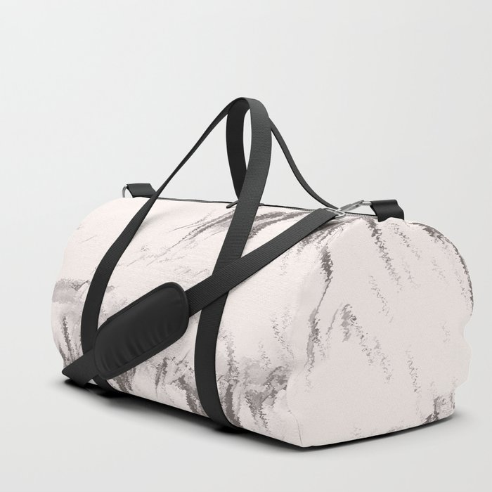 I See Beauty - Warm Black & White Duffle Bag