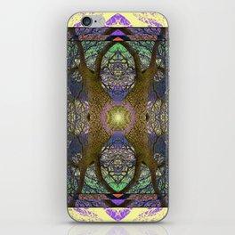 ANCIENT PEAR TREE MANDALA iPhone Skin