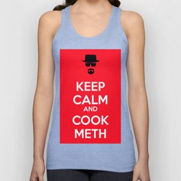 Keep Calm and Cook Meth Unisex Tank Top
